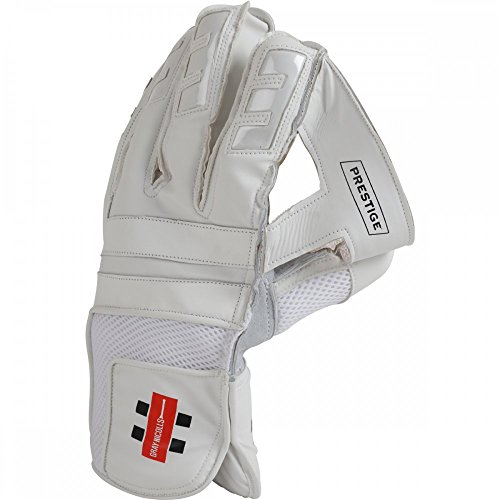 GRAY NICOLLS Prestige Wicket Keeping Cricket Gloves, M