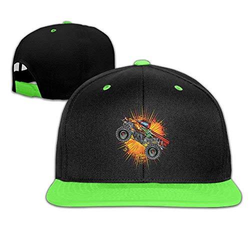 Kleinkind Hip Hop Baseball Caps und Hüte Boys 'Girl Monster Truck Dragon