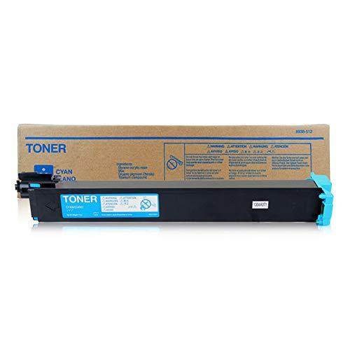 TN214 Toner Cartridge compatibele vervanging voor KONICA MINOLTA C200 C210 C7721 Series Printer, printkwaliteit is uitstekend, geen verschil dat size Blauw