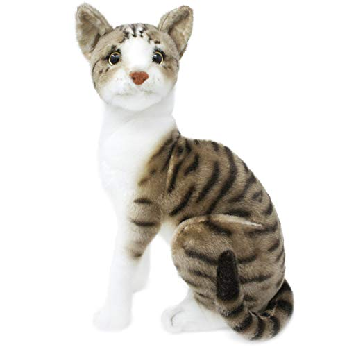 Amy The American Shorthair Cat - 14 Inch Stuffed Animal Plush - by Tiger Tale Toys