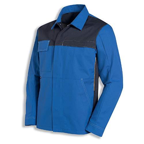 Uvex Perfect Herren-Arbeitsjacke - Blaue Männer-Bundjacke - Viele Taschen 52/54
