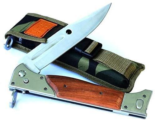 KOSxBO CCCP 47 UDSSR Taschenmesser, Zweihandmesser - Messer scharf, Gesamtlänge 22 cm Gürtelmesser Jagdmesser