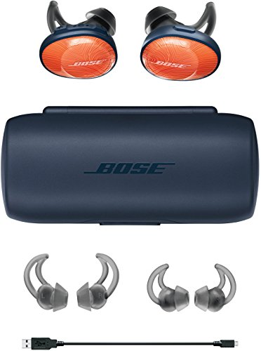 BoseSoundSportFreewirelessheadphones完全ワイヤレスイヤホンブライトオレンジ/ミッドナイトブルー