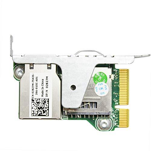 Gintai PowerEdge iDRAC7 Enterprise - Repuesto remoto para Dell 81RK6 2827M R520 R420 R320 T420 T320