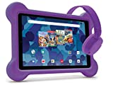 RCA 10.1-inch Tablet with Bumper case and Headphones (Purple)