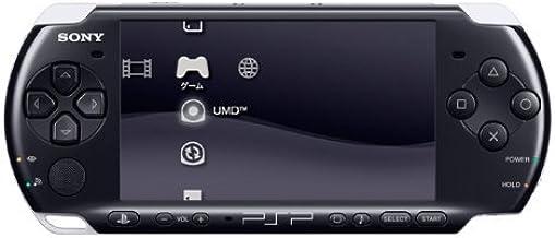 کنسول دستی PSP Slim و Lite 3000 سری Sony با 2 باتری (تمدید شده) (سیاه)