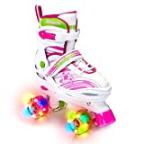 Product Image of the Adjustable Roller Skates for Children - Featuring PU Wheels, Awesome-Looking,...