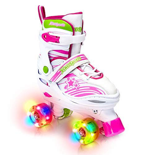 Adjustable Roller Skates for Children - Featuring PU Wheels, Awesome-Looking,...