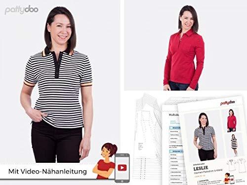pattydoo Schnittmuster Poloshirt und -Kleid 'Leslie'