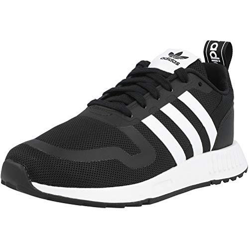 adidas Smooth Runner J Running Shoe, core Black/FTWR White/core Black, 40 EU