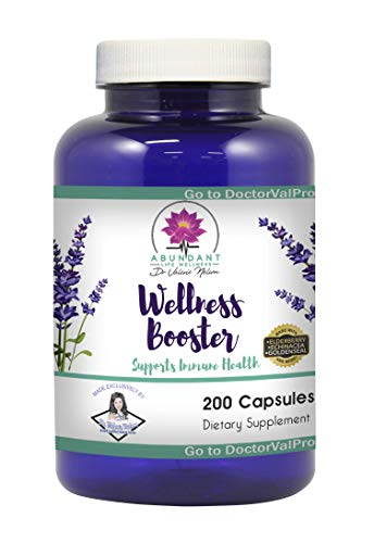 Echinacea Elderberry Goldenseal & More - 200 Caps - Wellness Boosters - by Dr. Valerie Nelson