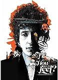 CAOHONG Dekor Leinwand Poster Bob Dylan Poster Alternative