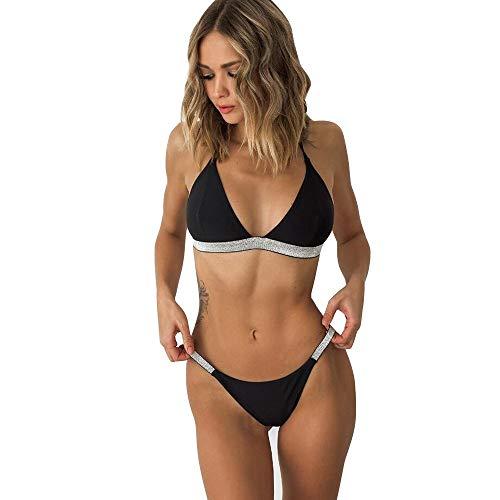 PDLYDP bikini zomer dames bikini badpak dames pailletten badpak Beachwear