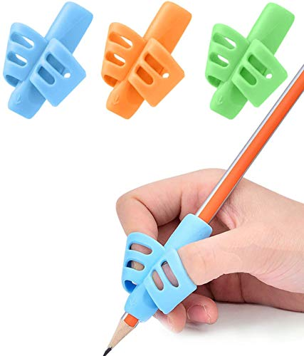 Pen Grips - JuneLsy Pen Grips for Kids Handwriting Posture Correction Training Writing AIDS for Kids...