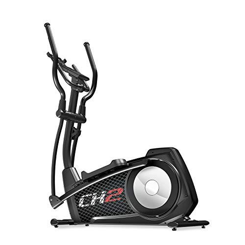 Sportstech CX2 Crosstrainer für zu Hause | mit Stromgenerator | inkl. VORMONTAGE | Video-Events & Multiplayer-App | Ellipsentrainer, Ergometer mit Konsole & Tablethalterung | 27 kg Schwungmasse