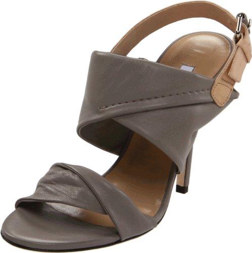Diane von Furstenberg Women's Sinead Slingback Sandal,Taupe,6 M US
