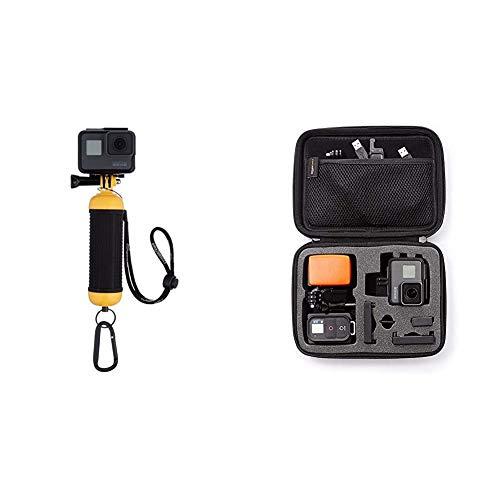 AmazonBasicsEmpuñadura Flotante e Impermeable para cámaras GoPro +Estuche de Transporte para GoProExtra-pequeño