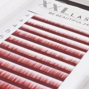 Cils droits sans courbe pour sourcils, reconstruction et extensions pour sourcils, 1 boîte de 12 rangées de longueurs différentes pour épaissir et allonger les sourcils, faux sourcils, Color brun