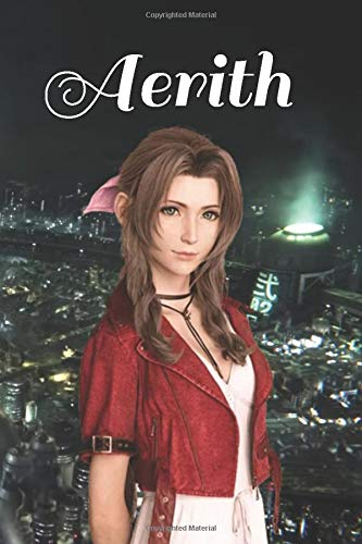 Aerith: Final Fantasy VII: Remake Notebook, Journal for Writing, Lined Pages, 120 Pages, Final Fantasy 7 / Seven / VII / FF7 / FFVII (FF7 Notebooks)