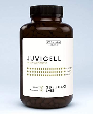 JUVICELL The Longevity Supplement 10 Science Based Ingredients to Support Lifespan with Curcumin product image