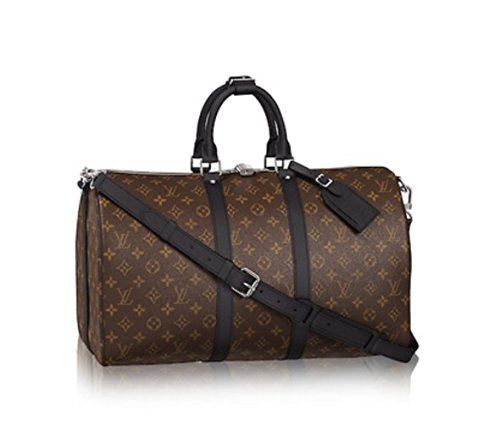Fashion Shopping Authentic Louis Vuitton Keepall 45 Bandoulière Handbag Article: M56711