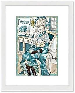 キャラアート(CHARA-ART) 【ArtCollection】赤倉 A5キャラファイングラフ『アンティーク着物』【**/A5】