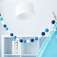 cotton ball lights blue