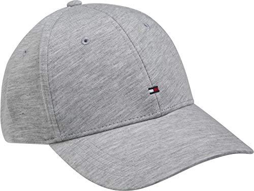 Tommy Hilfiger Herren Bb Jersey Baseball Cap, Grau (Light Grey Melange 0im), One Size (Herstellergröße: OS)