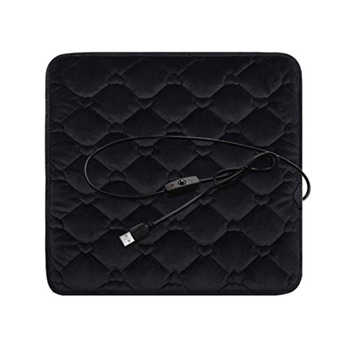 EZIZB Heating Cushion Cushion USB-interface Safety Plush Pad For Sea Electric For Back Neck And Shoulder Pain Relief Heating Pad Suitable For Seats In Cars, Homes, And Offices