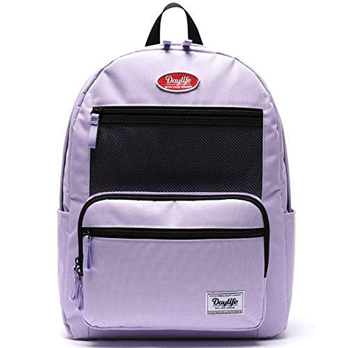 [デーライフ] Daylife Layer Backpack 2020 NEW レイヤーバックパック メッシュ リュック (パープル) [並...