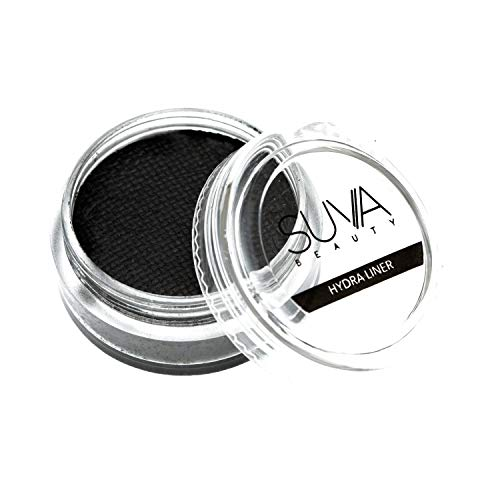 SUVA Beauty - Grease (Matte) Hydra Liner, Water-Activated Black Eyeliner, 10g