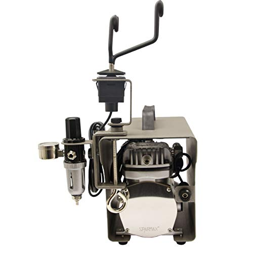 Sparmax Zeta Airbrush-compressor, olievrij