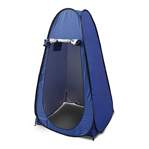 Pop Up Zelt , Ultraleicht Zelt Anglerzelt ideal für Toiletten Zelt, Camping Dusche, Umkleidezimmer, 2 personen Zelt