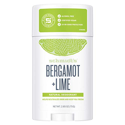 Schmidt's Deodorant Stick Bergamot & Lime, 75 g