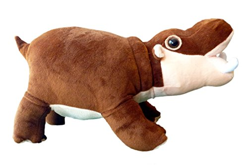 Adore 14' Standing Grumpy The Farting Hippo Hippopotamus Stuffed Animal Plush Toy