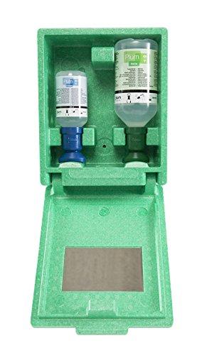 Plum 4789 Augen-Notfallstation in Wandbox mit 2 Flaschen