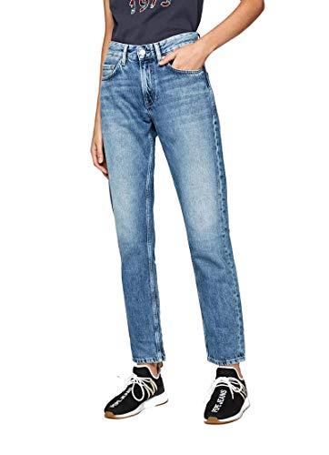 Pepe Jeans Damen Mable Straight Jeans, Blau (Medium Used Denim Gm3), W27/L32
