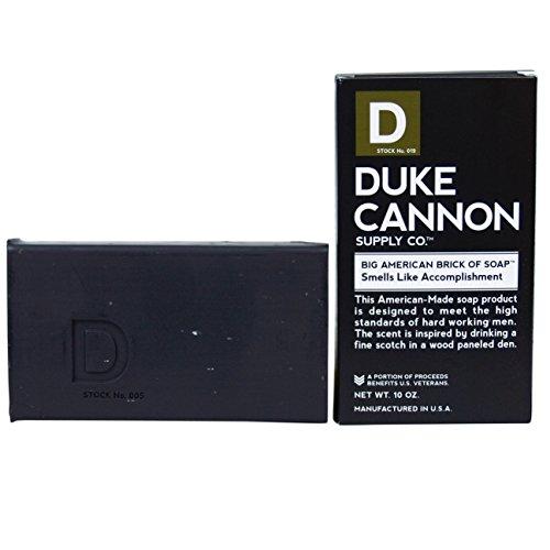 Duke Cannon Men's Soap Brick - 10oz. Big American Brick Of...