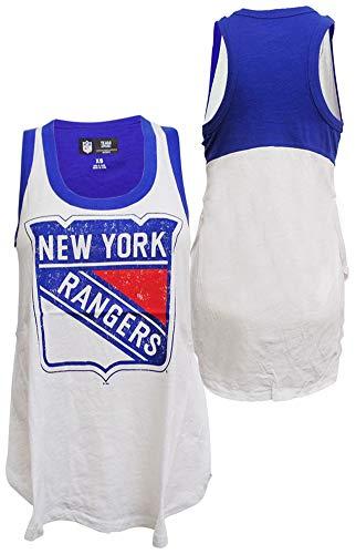 G-III Sports New York Rangers Womens Power Alley Tank Top T-Shirt Medium