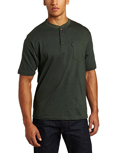 Key Industries Men's Heavyweight 3-Button Short Sleeve...