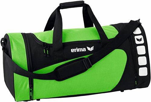 Erima CLUB 5 Sporttasche, Green/Schwarz, M