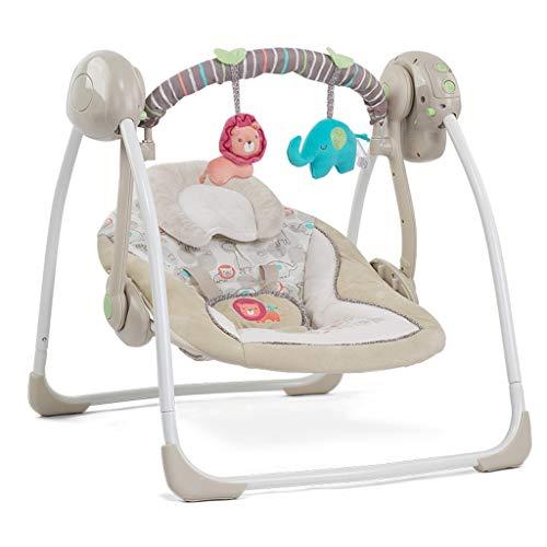 Xiao Jian- Nouveau-né Fournitures Bébé Chaise À Bascule Électrique Berceau Apaisant Shake Bed Swing Chaise berçante bébé (Couleur : A)