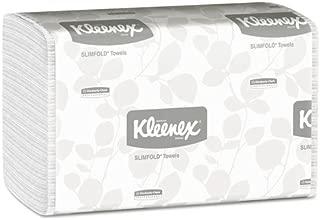 KLEENEX SLIMFOLD Hand Towels, White, 90/Pack, 24 Packs/Carton, Sold as 1 Carton