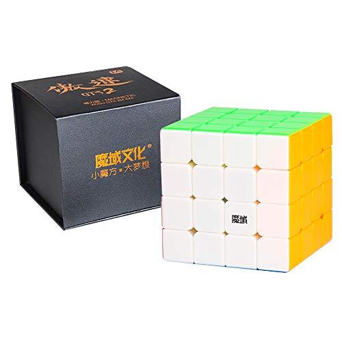 SOKOYO New MoYu Aosu GTS2M & GTS2 4x4x4 Cube and V2 4x4 Magnetic Cube Puzzle Professional Speed Cube (Aosu GTS 2M, Stickerless)