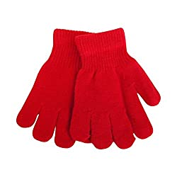 Hiver Boys|Kids Winter Gloves Pure Woolen Gloves For Snow