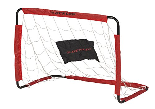 Dunlop Fußballtor, schwarz/Rot, 78 x 56 x 45 cm