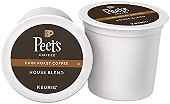 16-Count Peet's Coffee House Blend Single Serve K-Cup Coffee Pods