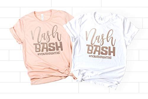 Nashville Bachelorette Party Shirts, Nash Bash Shirts for Bride and...