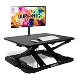 Duronic DM05D11 Estación de Trabajo para Monitor con Altura Ajustable de 6 a 42...
