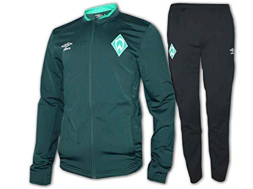 Umbro 2019-2020 Werder Bremen gebreide trainingspak (groen)